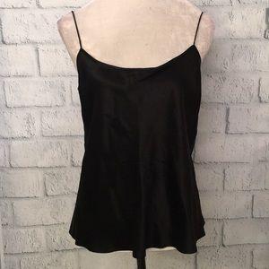 Dana Buchanan black silk camisole